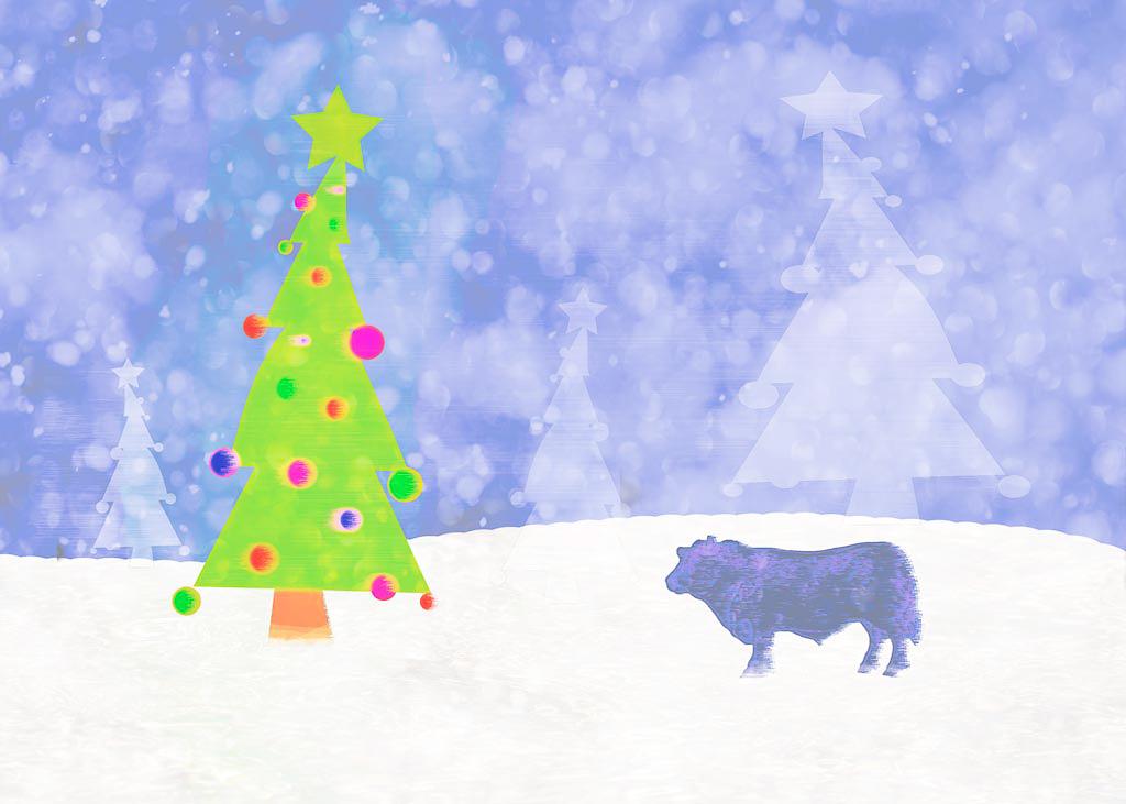 Moo Christmas