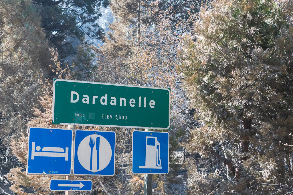 Dardanelle, Stanislaus National Forest, Tuolumne County