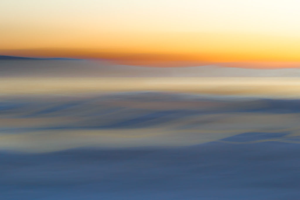 ICM Sunrise at Mono Lake, California, abstract, dawn, Mono County