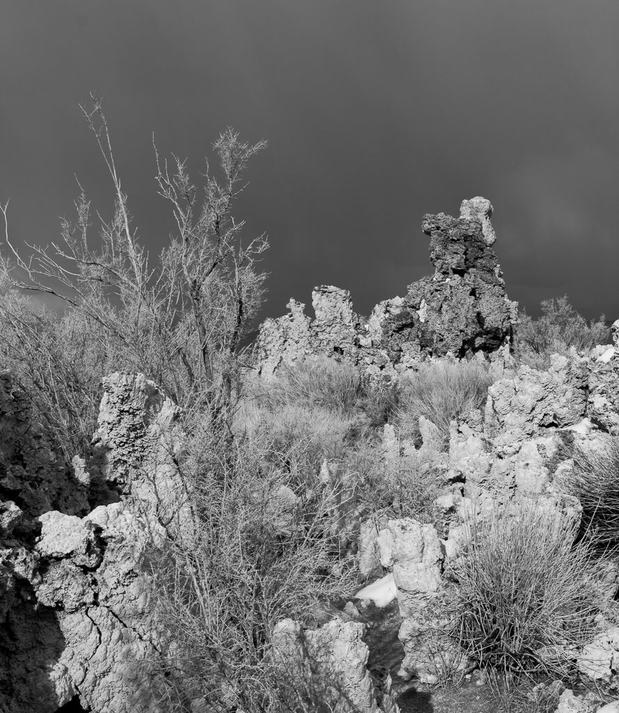 Storm Light on Tufas at Mono Lake, California, Mono County