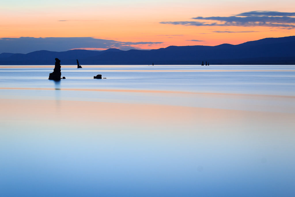 Sunrise at Mono Lake, California, Mono County